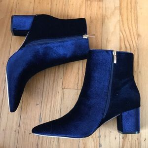 Steven By Steve Madden Shoes - STEVEN by Steve Madden velvet booties